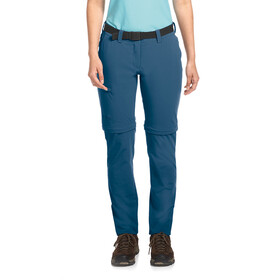 Maier Sports Inara Slim Afritsbroek Dames, ensign blue